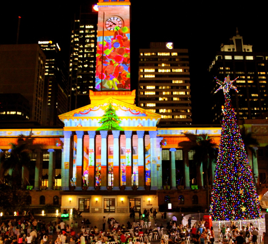 Christmas In The City, Brisbane CBD