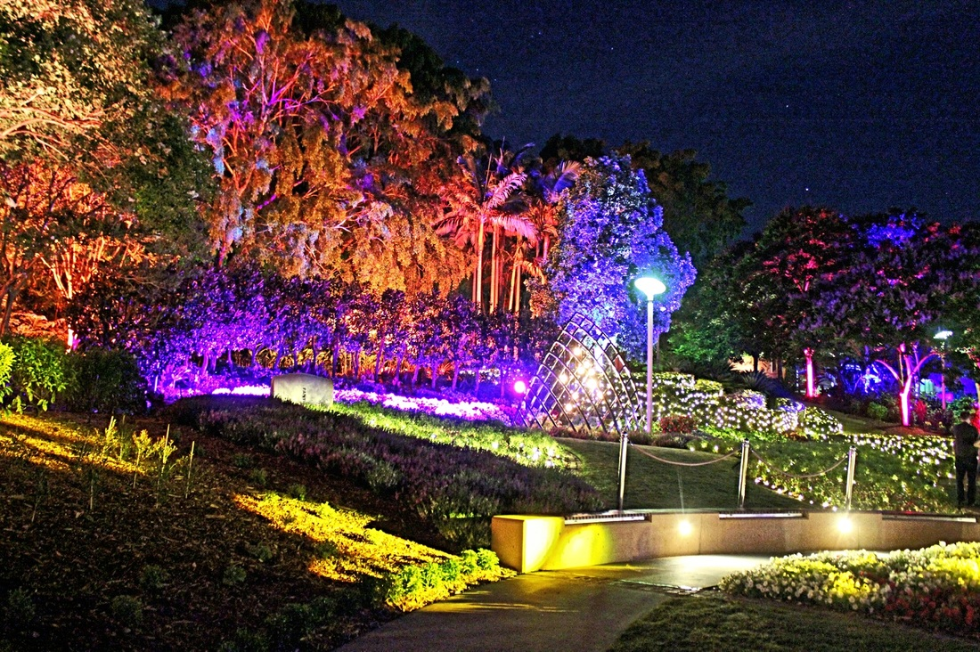 The Enchanted Garden, Roma Street Parkland